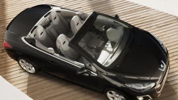 The new Peugeot 308 CC.