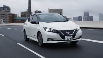 Nissan has made bold claims about the self-driving capabilities of its Leaf electric hatch.