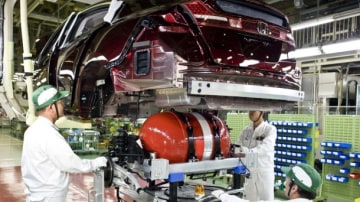 GM And Honda Partnering On Fuel-Cell Technology Program