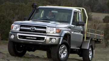 Landcruiser LC70.JPG 2007 Toyota LandCruiser 79 Cab Chassis GXL  LandCruiser LC70 ute