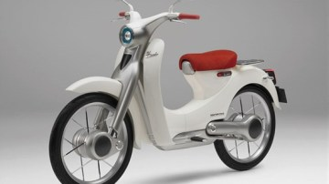 Honda Previews All-Electric Cub Scooter, Re-Focusing Efforts On Electric Vehicles