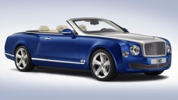 Bentley's Mulsanne Drops Top For Grand Convertible Concept