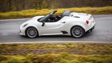 Alfa Romeo has announced pricing for the new 4C Spider.
