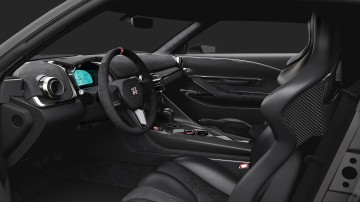 Nissan unveils 'limitless' vision for ultimate GT-R