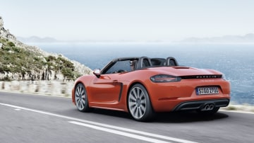 Porsche has revived its 718 nomenclature for its upcoming Boxster roadster.