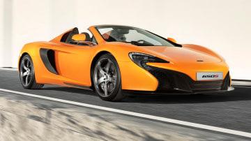 2015 McLaren 650S Spider Debuts At Geneva