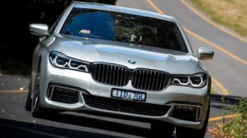 2017 BMW Range Day. Duneira Estate, Mount Macedon, Victoria, Australia. Thursday 9th February 2017. World Copyright: BMW Ref: Digital Image DSC_1086.NEF 2017 BMW 740e.