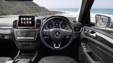 Mercedes-Benz GLS500.