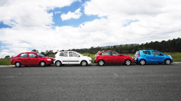 Proton S16 v Suzuki Alto v Hyundai Getz v Kia Rio