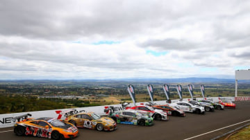 The Bathurst 12 hour offers a rich variety of cars.