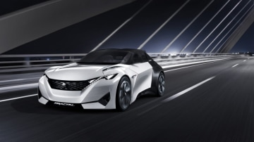 Peugeot Fractal concept has been shown at th 2015 Frankfurt motor show.