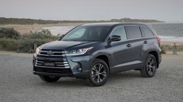 2018 Toyota Kluger GX.