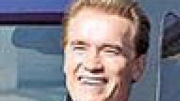 Arnie's hydrogen Hummer a first