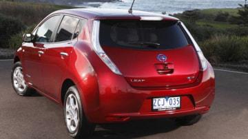 2012 Nissan Leaf.