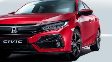 All-new 2017 Civic hatchback 2017 Honda Civic hatch.