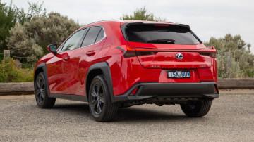 2021 Lexus UX250h Luxury rear