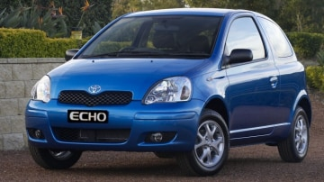 Around 8000 Toyota Echo models are affected by the airbag recalls.