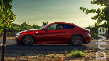 2019 Alfa Romeo Giulia Sprint composition
