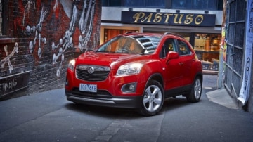 Gruntier: Holden has installed its 1.4-litre turbocharged four-cylinder engine into the Trax SUV for added performance.