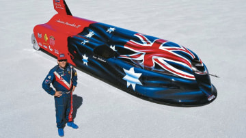 Iconic Australian land speed record car for sale for $550,000