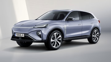 2021 MG Marvel R Electric mid-size SUV unveiled for Europe, on wish list for Australia