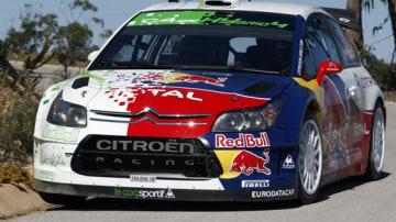 Citroen Commences Testing Of World's First Hybrid WRC Car