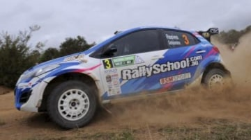 Giving: A gift voucher for a rally school is a great present for revheads this Christmas.