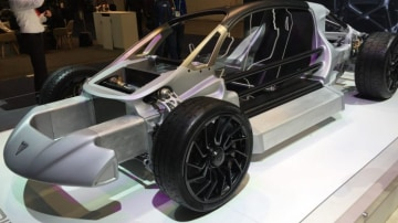 The company's upcoming machine uses a chassis constructed largely with the use of 3D printing.