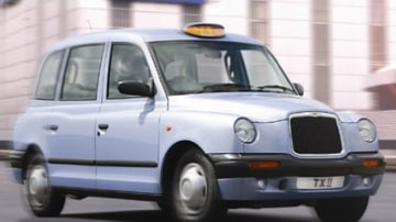 "The new made-in-China ""London taxi"""