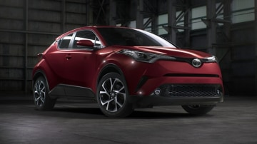 The 2017 Toyota C-HR debuts a new styling direction for the brand.