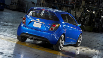 2011 Chevrolet Aveo RS show car. X11CH_AV005