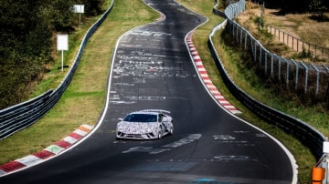 The 2017 Lamborghini Huracan Performante set a new lap record during testing at the Nurburgring.