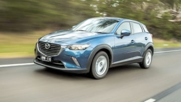Mazda has made AEB standard on all its SUVs.