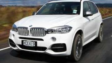 BMW X5 M50d new car review
