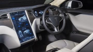 The Tesla Model S's interior redefines modern luxury.
