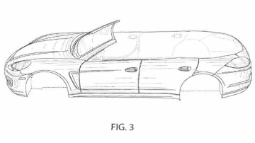 Porsche Panamera Cabriolet Revealed In Patent Application: Four Doors Given The Nod