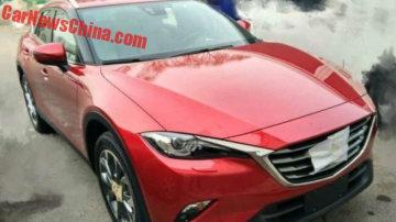 2016 Mazda CX-4 Spy Shots