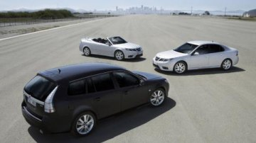 2008 Saab 9-3 press release and official photos