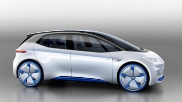 Volkswagen I.D. concept is the start of a new range of EV models for the brand.
