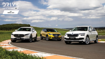 Drive Best Small SUV 2021 finalists group photo