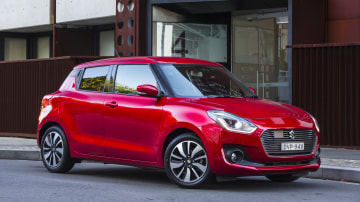 2018 Suzuki Swift Sport.