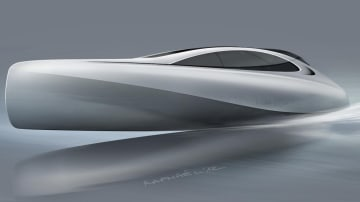 Mercedes Benz Unleashes Yacht Concept On Monaco