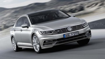 New Volkswagen Passat.