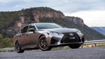 2016 Lexus GS F.