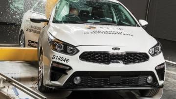 Mixed ANCAP ratings for Kia Cerato