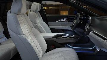 2023 Cadillac Lyriq front interior seating