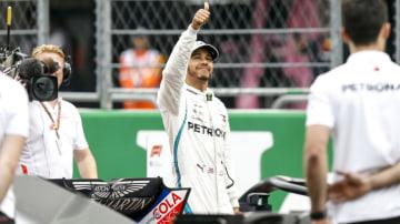 Hamilton wins fifth F1 championship