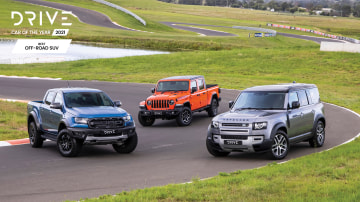 Drive Car of the Year Best Off-Road SUV 2021 finalists group photo
