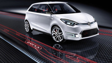 MG Zero Small Hatch Concept Unveiled At Beijing