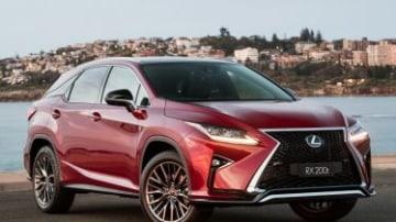 The sweet spot: Lexus RX